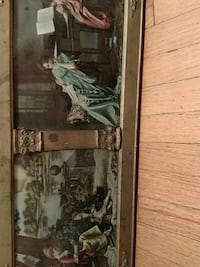 brown wooden framed painting of people Staten Island, 10306