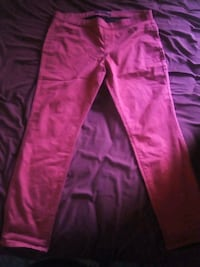 Red pants, only worn once, size 15-17  Sacramento, 95823