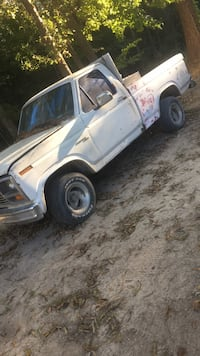 white single cab pickup truck 536 mi