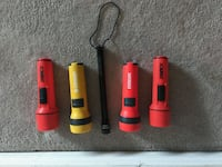 5 Pcs vintage torches as shown in picture Ottawa