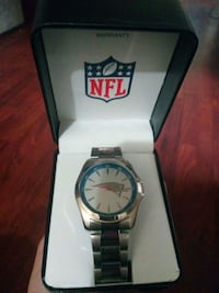 Brand new Mans Patriots watch 2334 mi