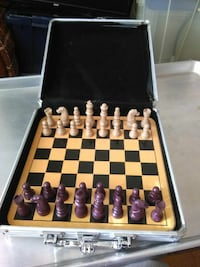 beige and brown chess board set Alexandria, 22304