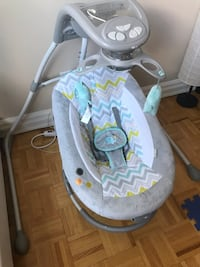 Baby swing and rocker, ingenuity dream comfort Toronto, M6P 2R8