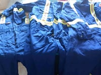 Fire retardant coveralls used maybe twice  Edmonton, T6L 2G6
