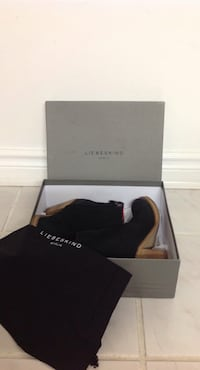 LIEBESKIND BERLIN Black Ankle Boots: Size 8 (New, never used) Toronto, M6G