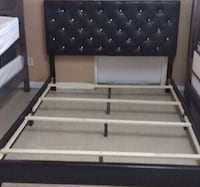 New Black Queen Size Bed Frame with Diamonds  Katy, 77450