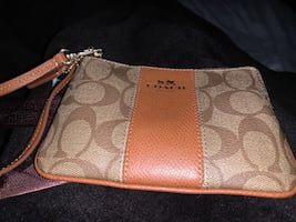 New coach wallet obo