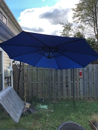 Large Patio Umbrella - Blue  Sterling, 20164