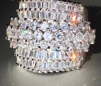 Luxurious CZ Ring. Size 7 Springfield, 22152