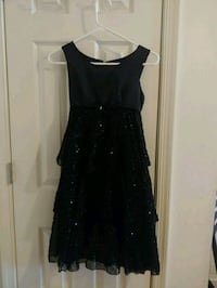 *PICKUP 1/17 $15* Girls Long Black Dress