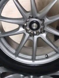 Unalug light weight wheels and tires