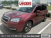 2017 Subaru Forester 2.5i Limited Rogers, 72758