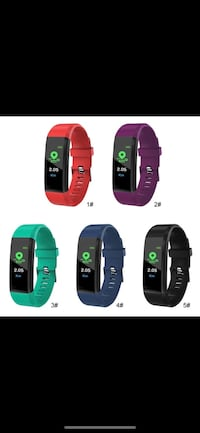 Fitness Tracker watch with one extra free steap. Moq 10 pcs Edmonton, T6T 1M2