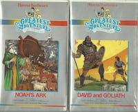 2 Hanna Barbera's The Greatest Adventures The Easter Story, David & Go Newmarket