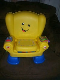 Learning sing-along chair