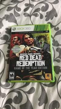 Xbox 360 red dead redemption  Toledo, 43617