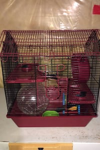 Hamster cage with toys Niagara Falls, L2G 5P4