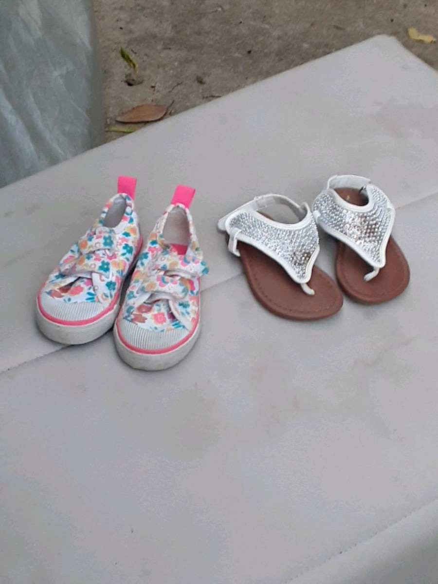 Photo Several Pair of Girl Toddler Shoes