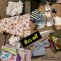 Infant/toddler clothes and shoes