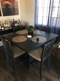 Solid wood dining set $300  Simi Valley, 93065