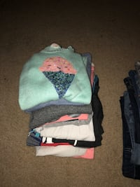 7 shirts, 3 light sweaters all girls size 10/12 Mukilteo, 98275