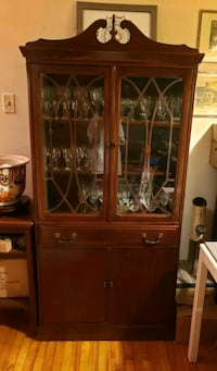 **RESERVED**CHINA CABINET - MOVING SALE Montreal, H4L 4G8