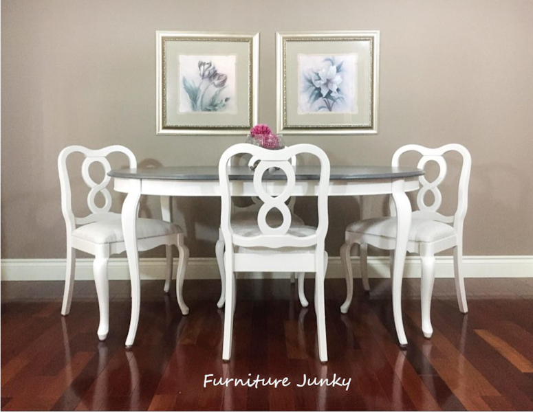 French Provincial Table and Chairs 0