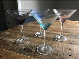 Waterford Crystal martini glass set of 4