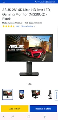 Gaming Monitor 4k 1ms London