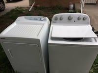 washer and dryer $50 for each one