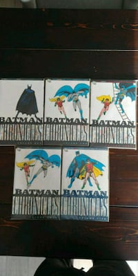 Batman Chronicles. Volumes 1 to 5. Comics Bradford West Gwillimbury, L3Z 3A7