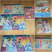 Disney Princess - 5 Step into Reading Books (perfect for classroom libraries) Surrey