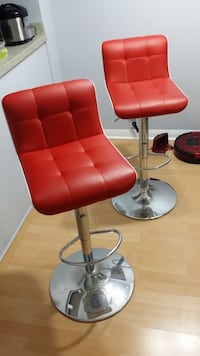 Red Leather Bar Stools Vaughan, L4L 5K6