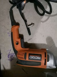 RIDGID CORDED HAMMER DRILL LIKE NEW