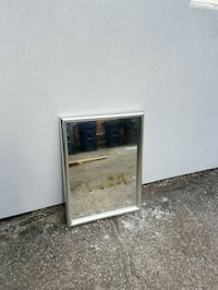 Large silver framed mirror Toronto, M8W 1S8