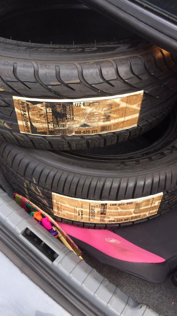 205 60 15 set of 2 tires new