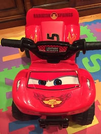 Lightning McQueen ride-on electronic quad Bethesda, 20817