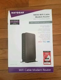 Netgear N300 Wi-Fi router box North Bethesda, 20852