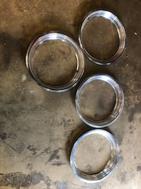 1980-1997 ford truck or bronco wheel trim rings  Cherry Hill, 08002