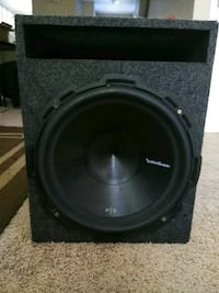 black Pioneer subwoofer with enclosure Cincinnati, 45229