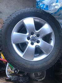 Used winter tires and rims for Volkswagen Jetta