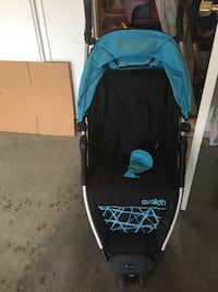 baby's blue and black jogging stroller Richmond, V6X
