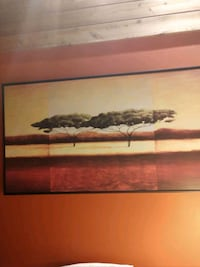 Painting of African trees Flemington, 08822