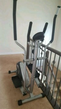 black and gray elliptical trainer 3159 km