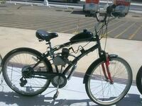 black and red motorized bicycle Mesa, 85201