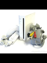 CLASSIC WHITE NINTENDO WII GAMING SYSTEM .