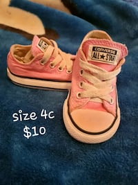 pair of pink Converse All Star low-top sneakers Maricopa, 93252