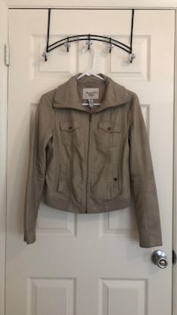 American Rag faux leather jacket sz M Chantilly, 20151