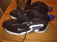 black-and-white Nike basketball shoes Oxon Hill, 20745