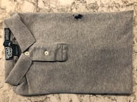 Polo Ralph Lauren Small Custom Fit (grey) like new! Kelowna, V1Z 4G2